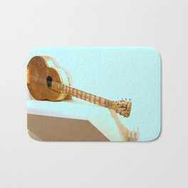 The Golden Guitar Bath Mat