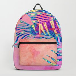 Electric Lionfish Backpack
