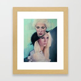 Broken Point Framed Art Print