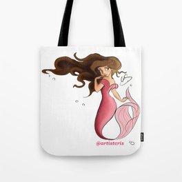 Mermaid Aqua Tote Bag