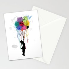 wild drips Stationery Cards