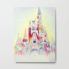 Snow Castle  Metal Print