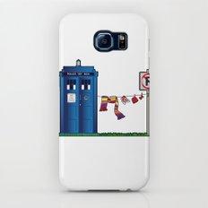 Doctor Who: tardis wardrobe  Galaxy S6 Slim Case
