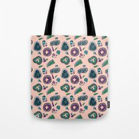 geode Tote Bags featuring Geode by daintyish