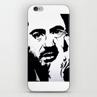 robert downey jr iPhone & iPod Skins featuring Robert Downey Jr by Olivia Iman