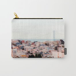 Buildings with bridge view at San Francisco California USA Carry-All Pouch