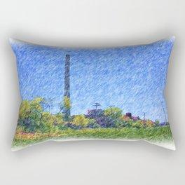Old time Factory Rectangular Pillow
