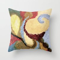 aladdin Throw Pillows featuring Aladdin by Cricketswool