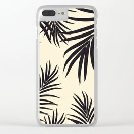 Palm Leaves Pattern Summer Vibes #8 #tropical #decor #art #society6 Clear iPhone Case