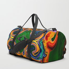abstract fire c Duffle Bag
