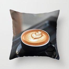 Delicious Coffee Throw Pillow