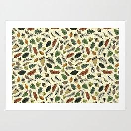 Neverland Pattern Art Print