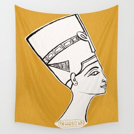 Queen Nefertiti Wall Tapestry