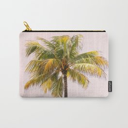 Palm Tree Photography   Pink Sunrise   Summer Vibes   Landscape   Nature   Beach Carry-All Pouch