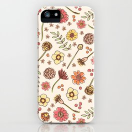 Key West Flowers iPhone Case