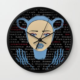 WORLD CITIZENS Wall Clock