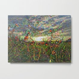 DeepDream Pictures, Landscapes Metal Print