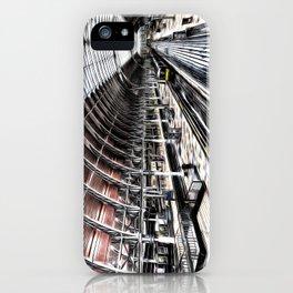 Paddington Station Art iPhone Case