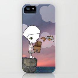 Gone Fishing (2) iPhone Case