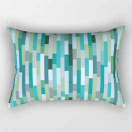 City by the Bay, Rainy Bay Day Rectangular Pillow