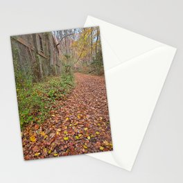 Fall Power House Trail Stationery Cards