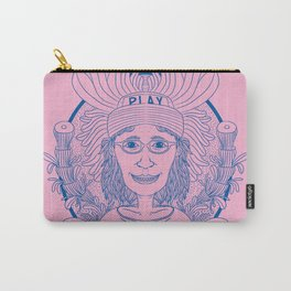 WORK HARD GIRL Carry-All Pouch