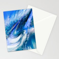 Rapture In Blue   Abstract Stationery Cards