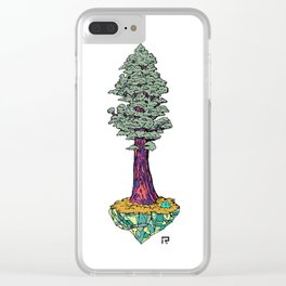 Sequoia - Past, Present, and Future. Clear iPhone Case