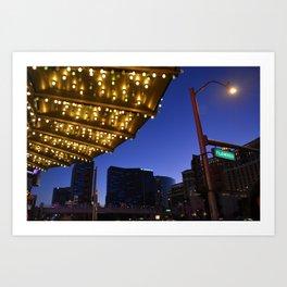 Casino Lights Art Print