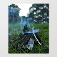 camp Canvas Prints featuring camp by jillian bogarde