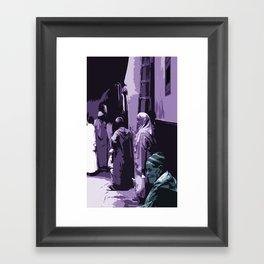 Arab World Framed Art Print