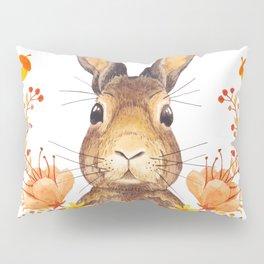 Autumn Rabbit Pillow Sham