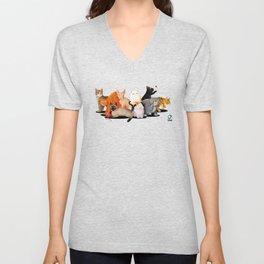 Gatos / Cats Unisex V-Neck