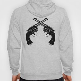 Crossed Revolvers Hoody