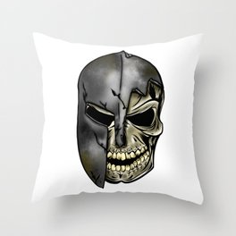 Spartans Never Die Throw Pillow