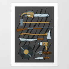 Horrible Weapons Art Print