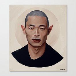 Elf Portrait Canvas Print