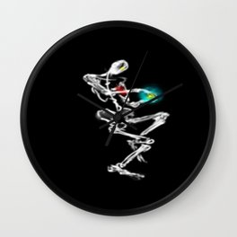 Dancing Master materializing Cosmic Energy Ball.  Wall Clock
