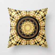 GlaMANDALA | Mandala Glamour Throw Pillow