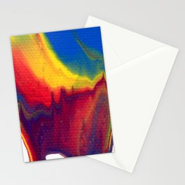 Paint Pouring 18 Stationery Cards