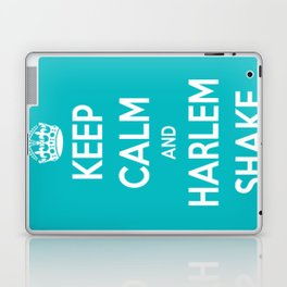 Keep Calm & Harlem Shake. Laptop & iPad Skin