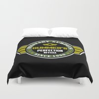 military Duvet Covers featuring Gummer's military surplus by Buby87