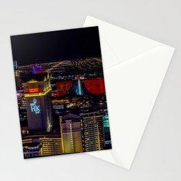 Las Vegas skyline photos Stationery Cards