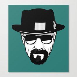Heisenberg Print Canvas Print