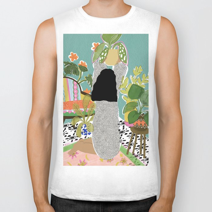 Jungle Queen Biker Tank