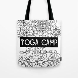 Yoga Camp Minneapolis Tote Bag