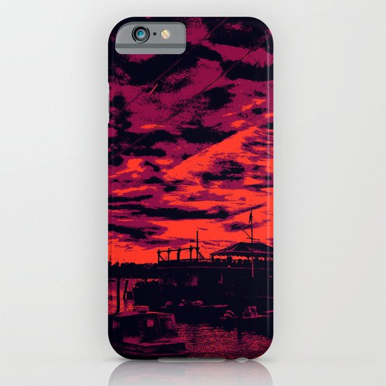 Sunset Over Bristol Harbor 2 iPhone & iPod Case