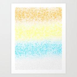 Surf on Colors (1) Art Print