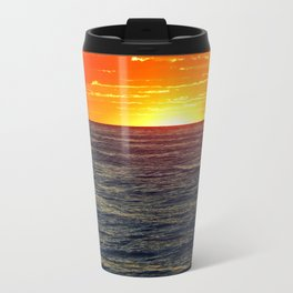 Paddle Boarding at Sunset Travel Mug