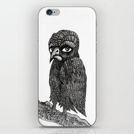 Morbid bird iPhone Skin